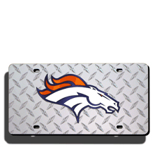 Denver Broncos License Plate Laser Tag