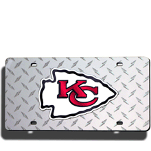 Kansas City Chiefs License Plate Laser Tag