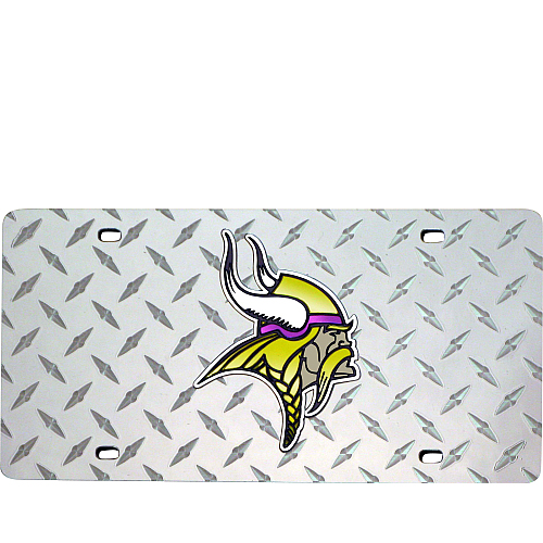 Minnesota Vikings License Plate Laser Tag