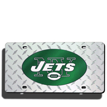 New York Jets License Plate Laser Tag