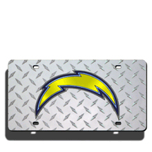 San Diego Chargers License Plate Laser Tag