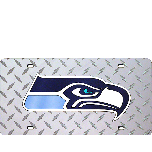 Seattle Seahawks License Plate Laser Tag