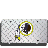 Washington Redskins License Plate Laser Tag
