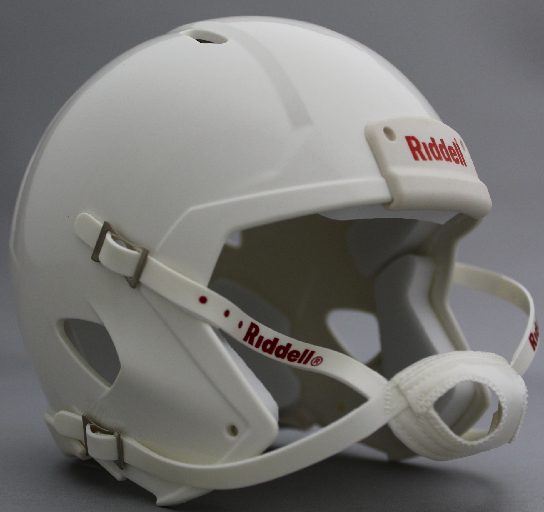 Mini Speed Football Helmet SHELL White