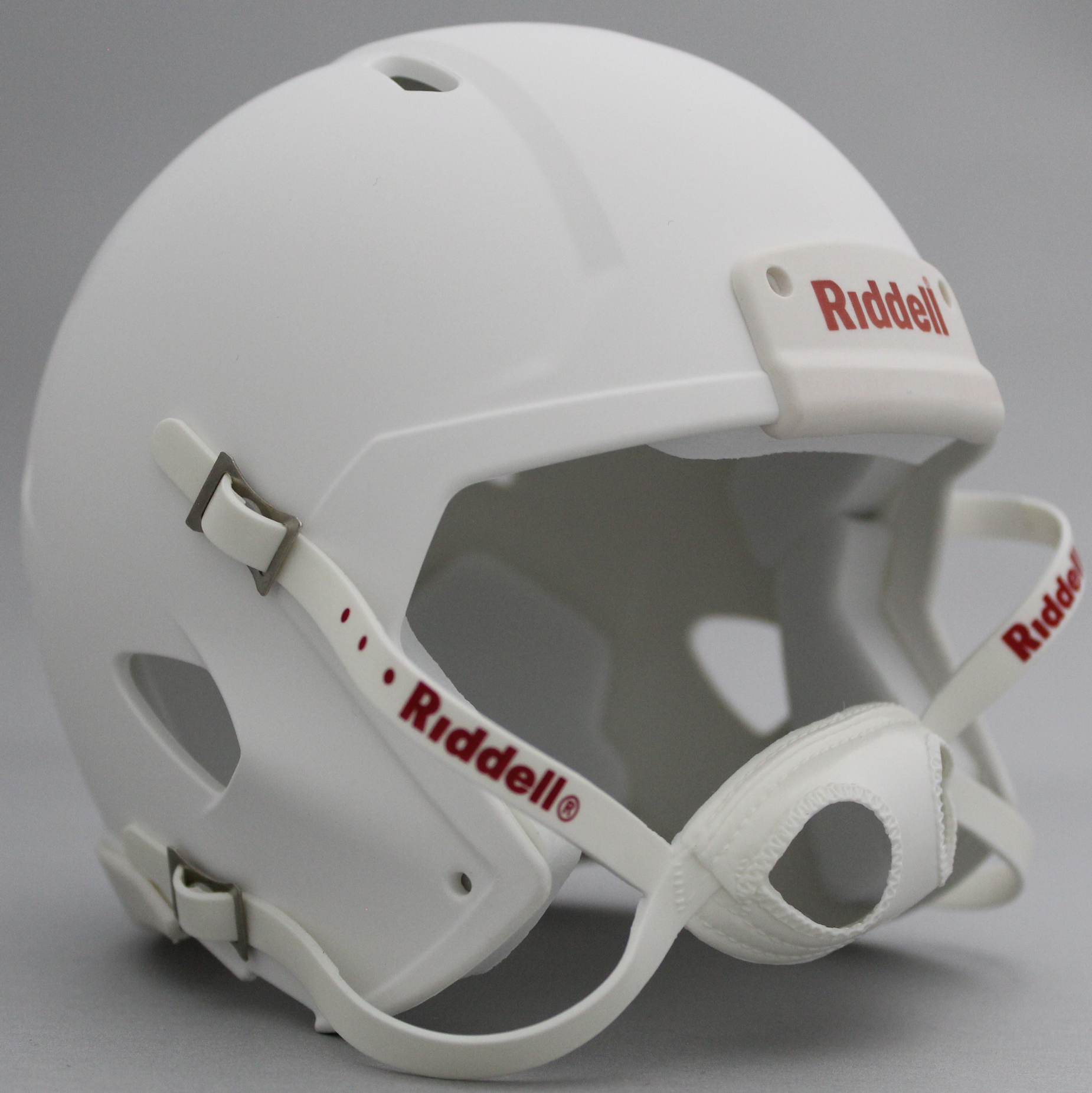 Mini Speed Football Helmet SHELL Matte White