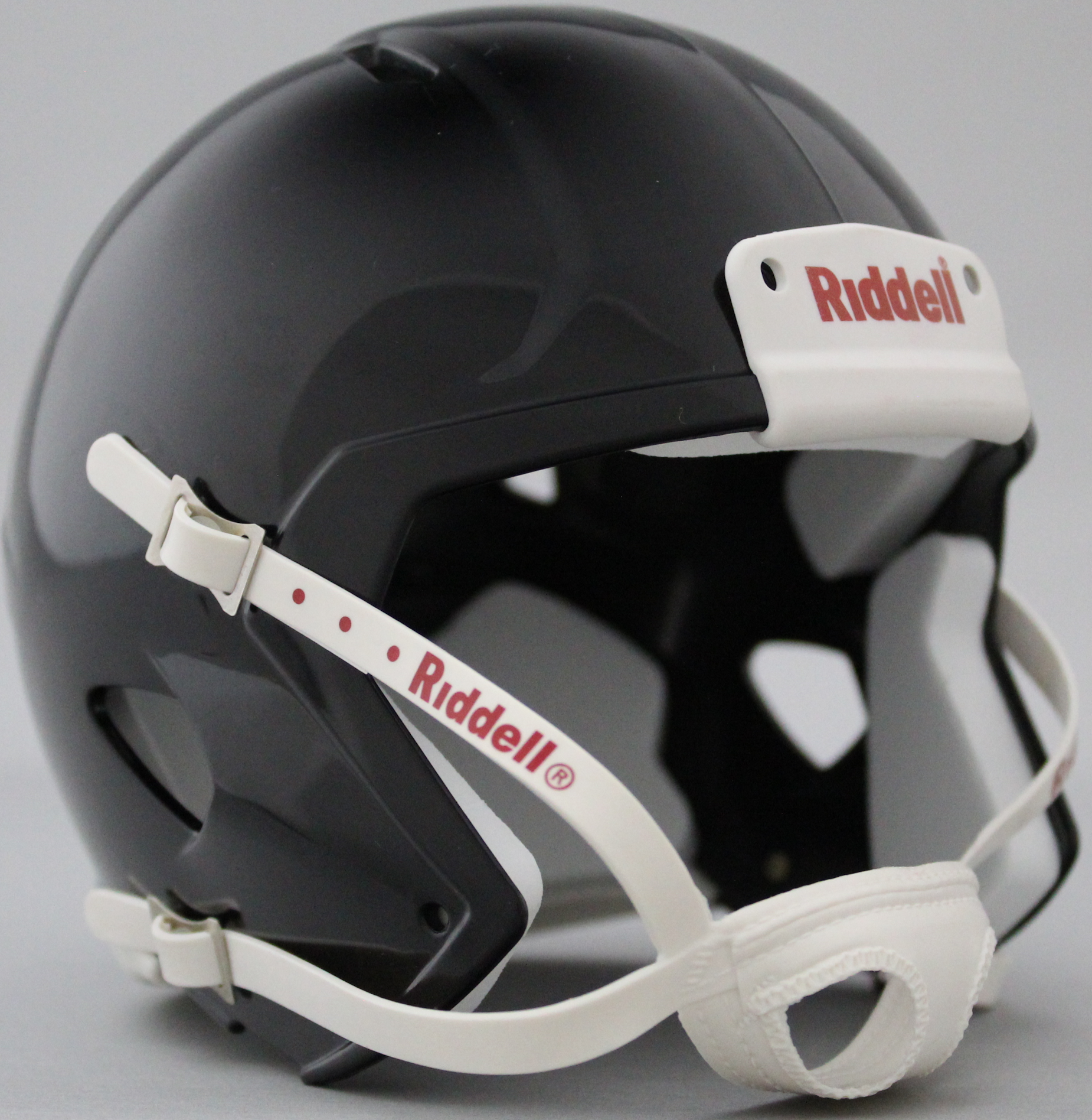Mini Speed Football Helmet SHELL Black/White parts