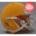 Helmets, Blank Mini Helmets: Mini Speed Football Helmet SHELL Green Bay Gold