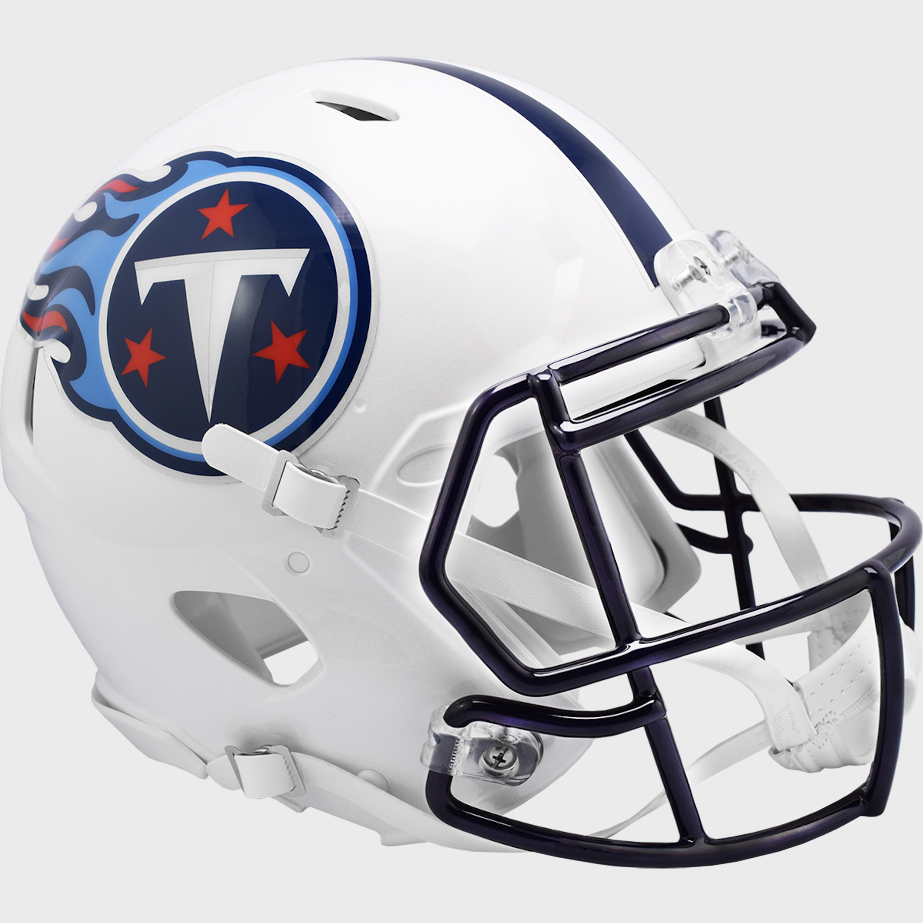 Tennessee Titans 1999 to 2017 Speed Throwback Football Helmet