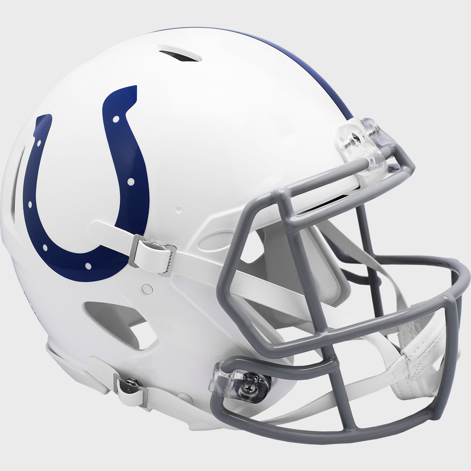 Indianapolis Colts 2004 to 2019 Speed Throwback Football Helmet