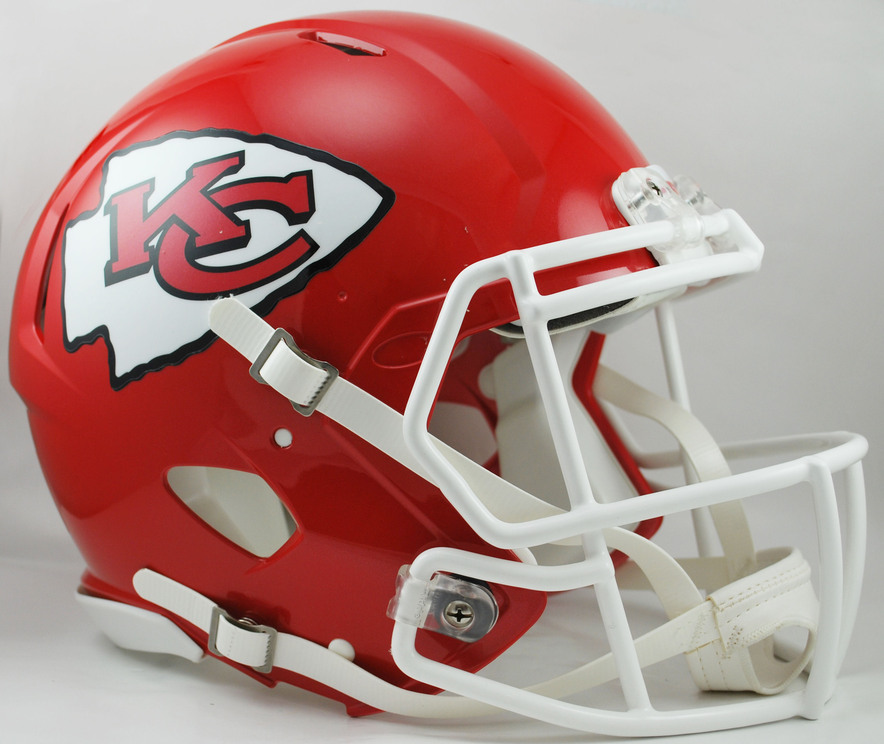Kansas City Chiefs Speed Football Helmet