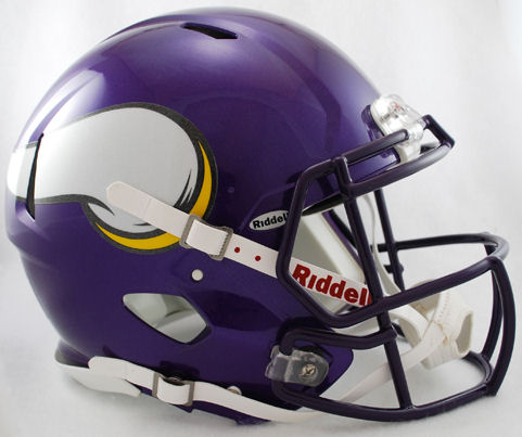 Minnesota Vikings Speed Football Helmet