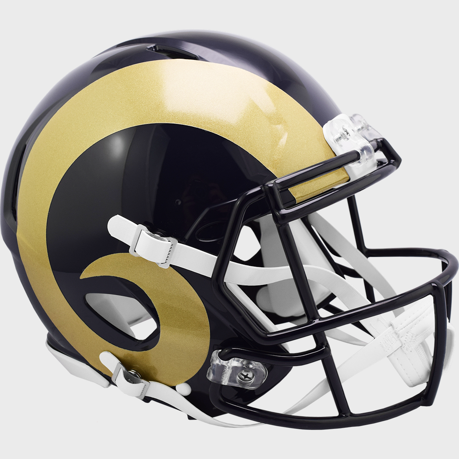St. Louis Rams 2000 to 2016 Speed Throwback Football Helmet