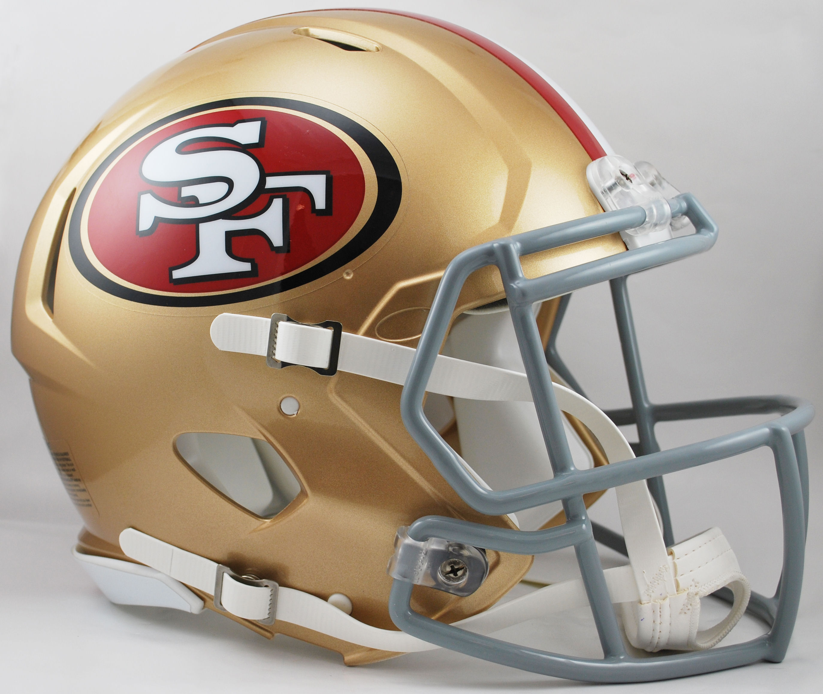 San Francisco 49ers Speed Football Helmet