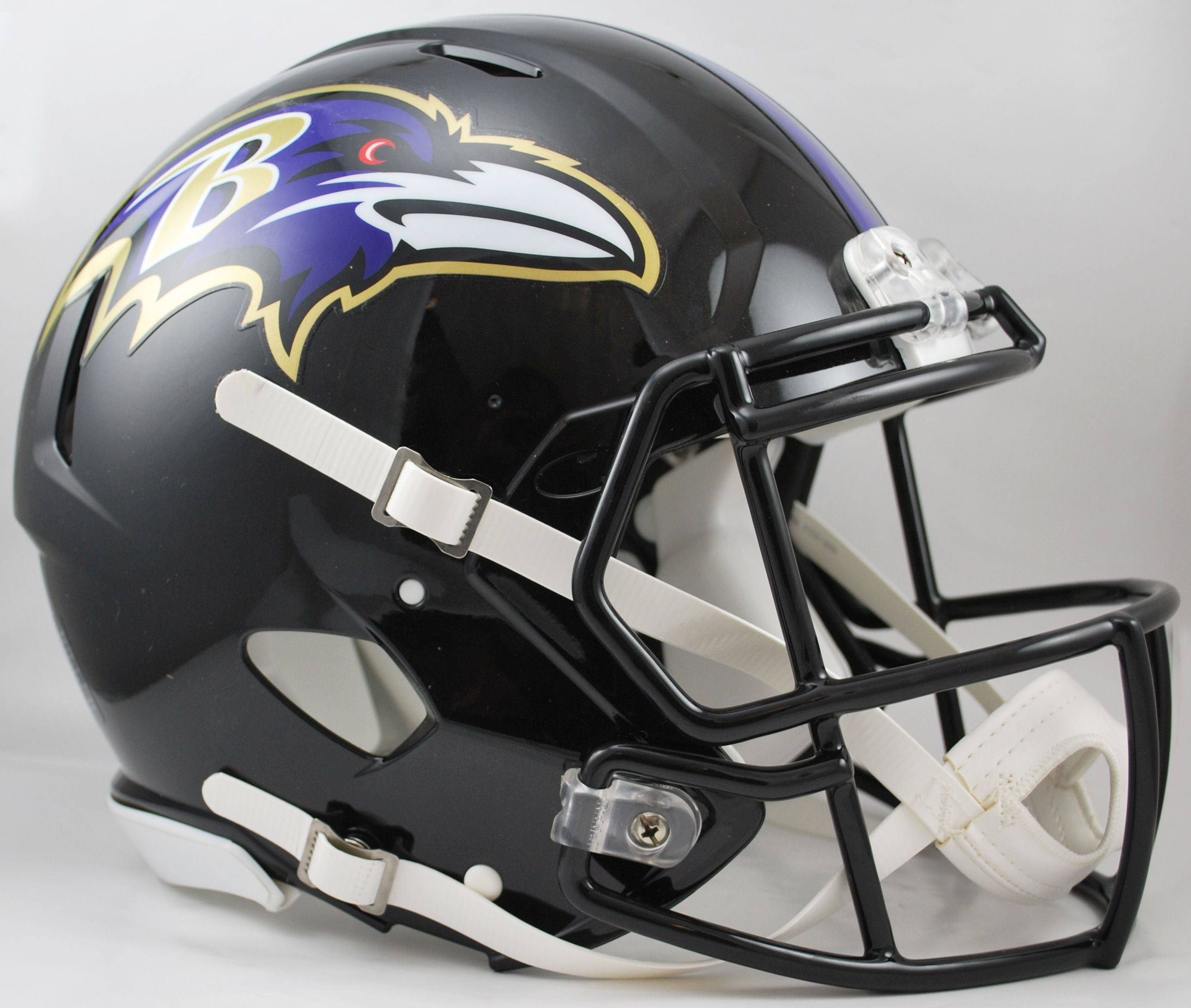 Baltimore Ravens Speed Football Helmet