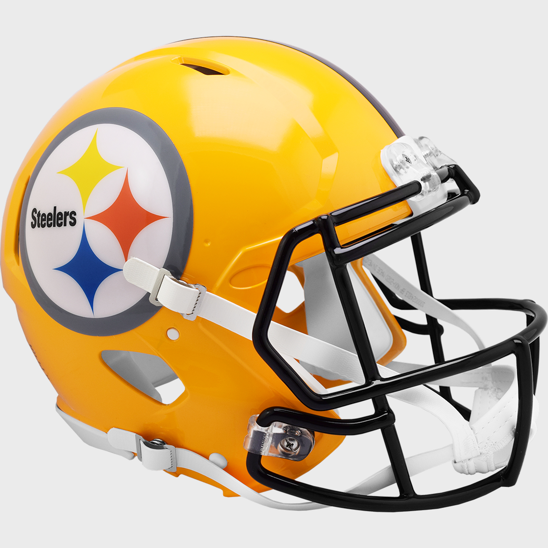 Pittsburgh Steelers Speed Football Helmet Gold