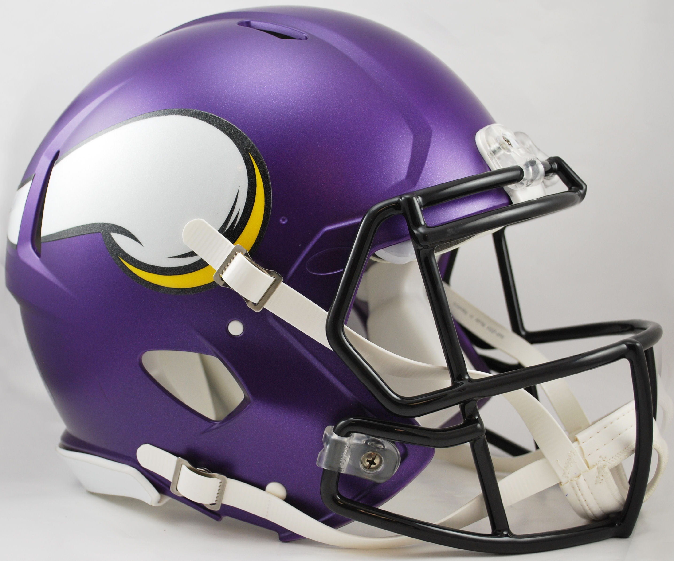 Minnesota Vikings Speed Football Helmet <B>Satin Purple</B>