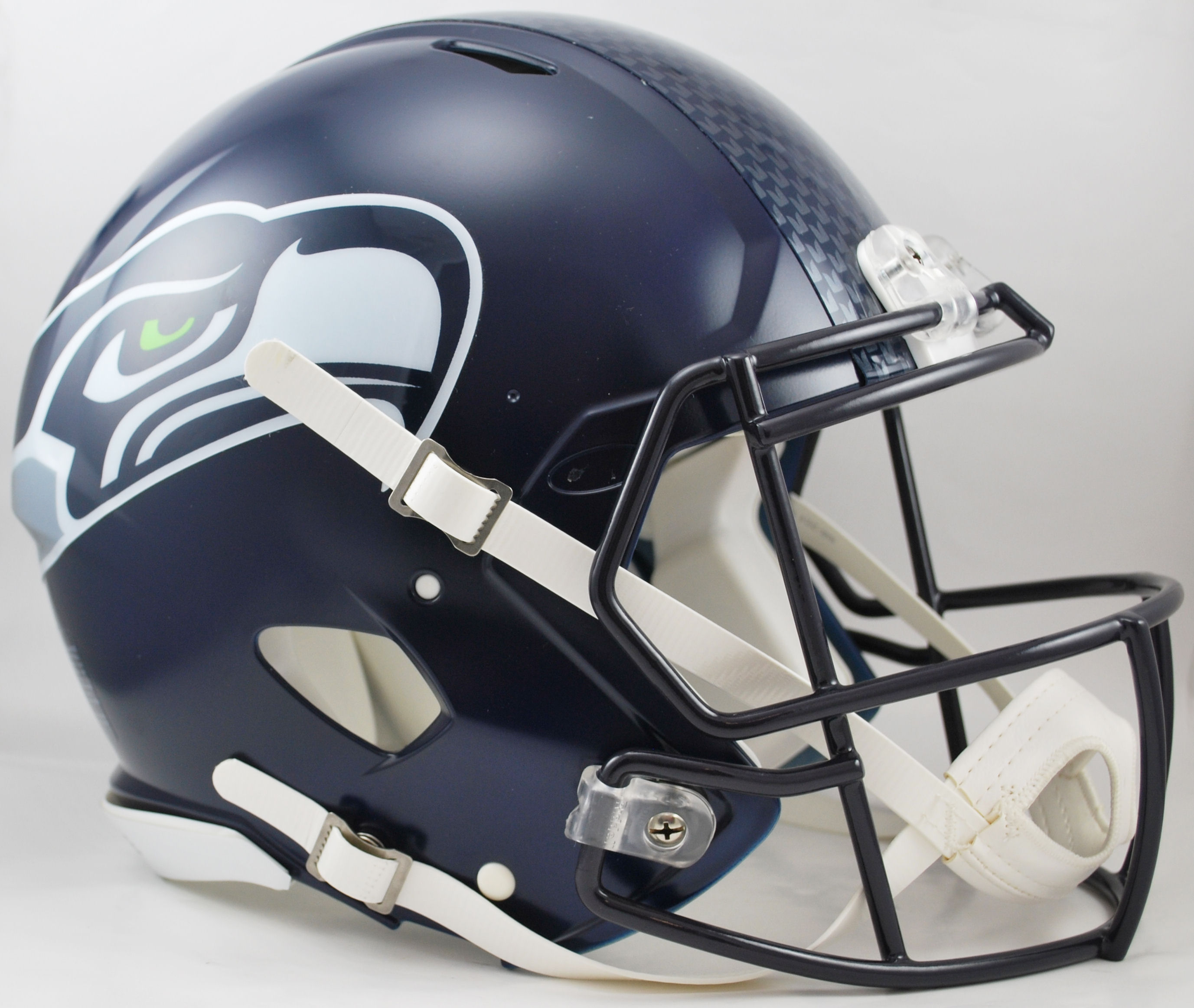 Seattle Seahawks Speed Football Helmet <B>Matte Navy</B>