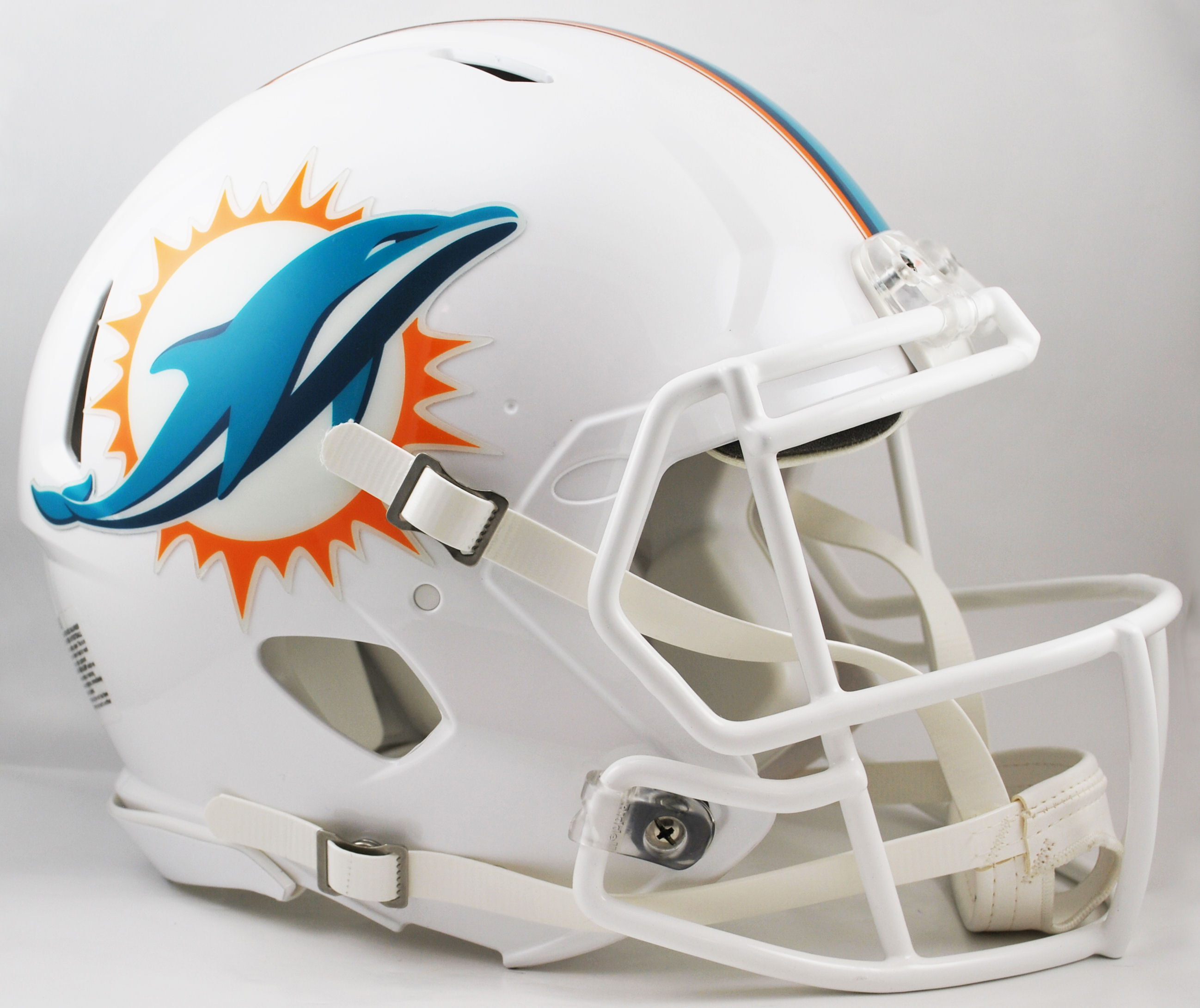 Miami Dolphins Speed Football Helmet <B>New 2013</B>