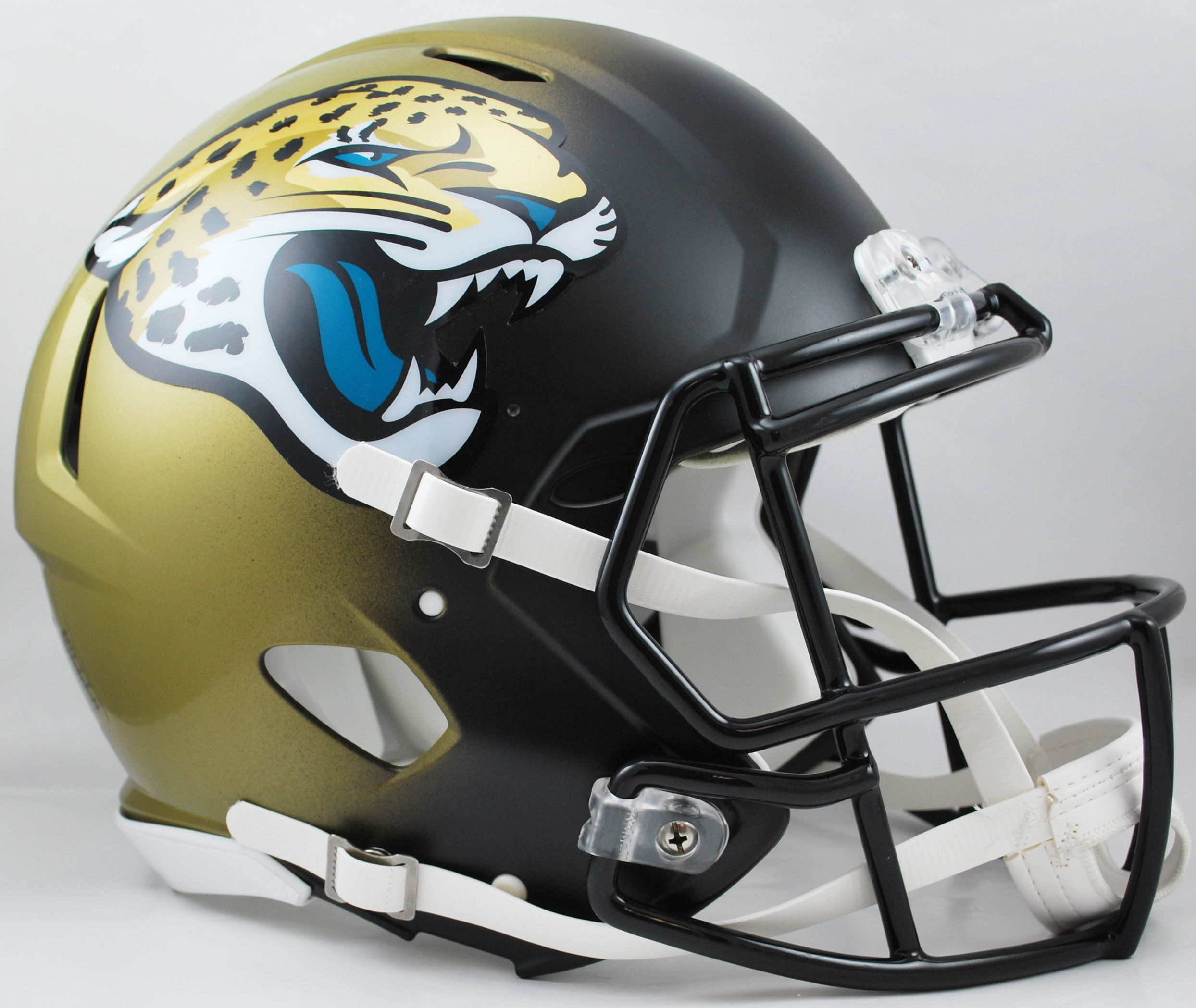 Jacksonville Jaguars Speed Football Helmet <B>New 2013</B>
