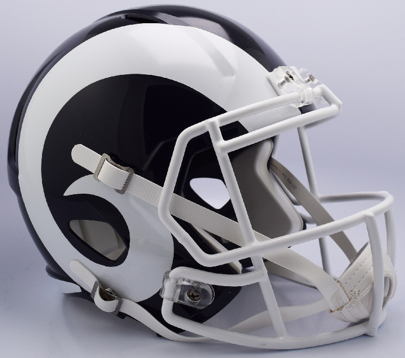 Los Angeles Rams Speed Football Helmet <B>NEW 2017</B>