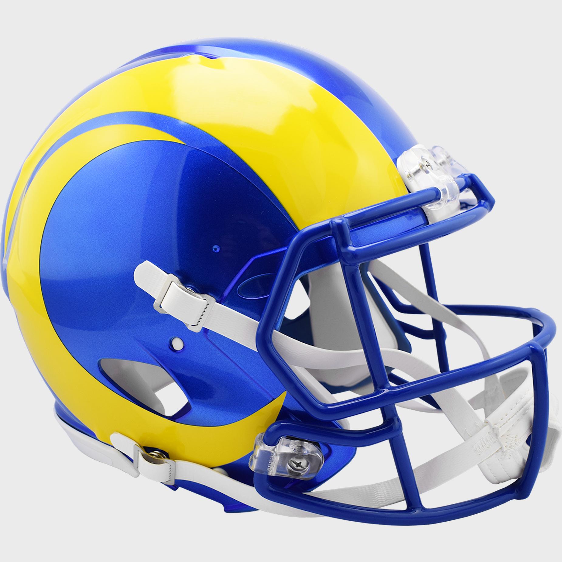 Los Angeles Rams Speed Football Helmet <B>2020</B>
