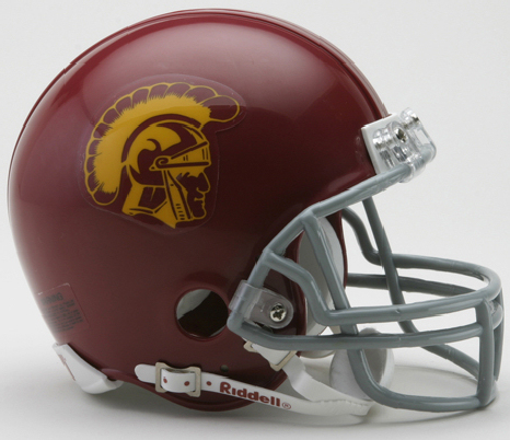 USC Trojans NCAA Mini Football Helmet