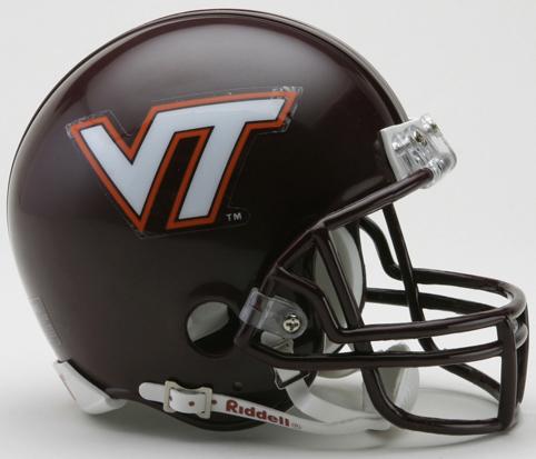 Virginia Tech Hokies NCAA Mini Football Helmet