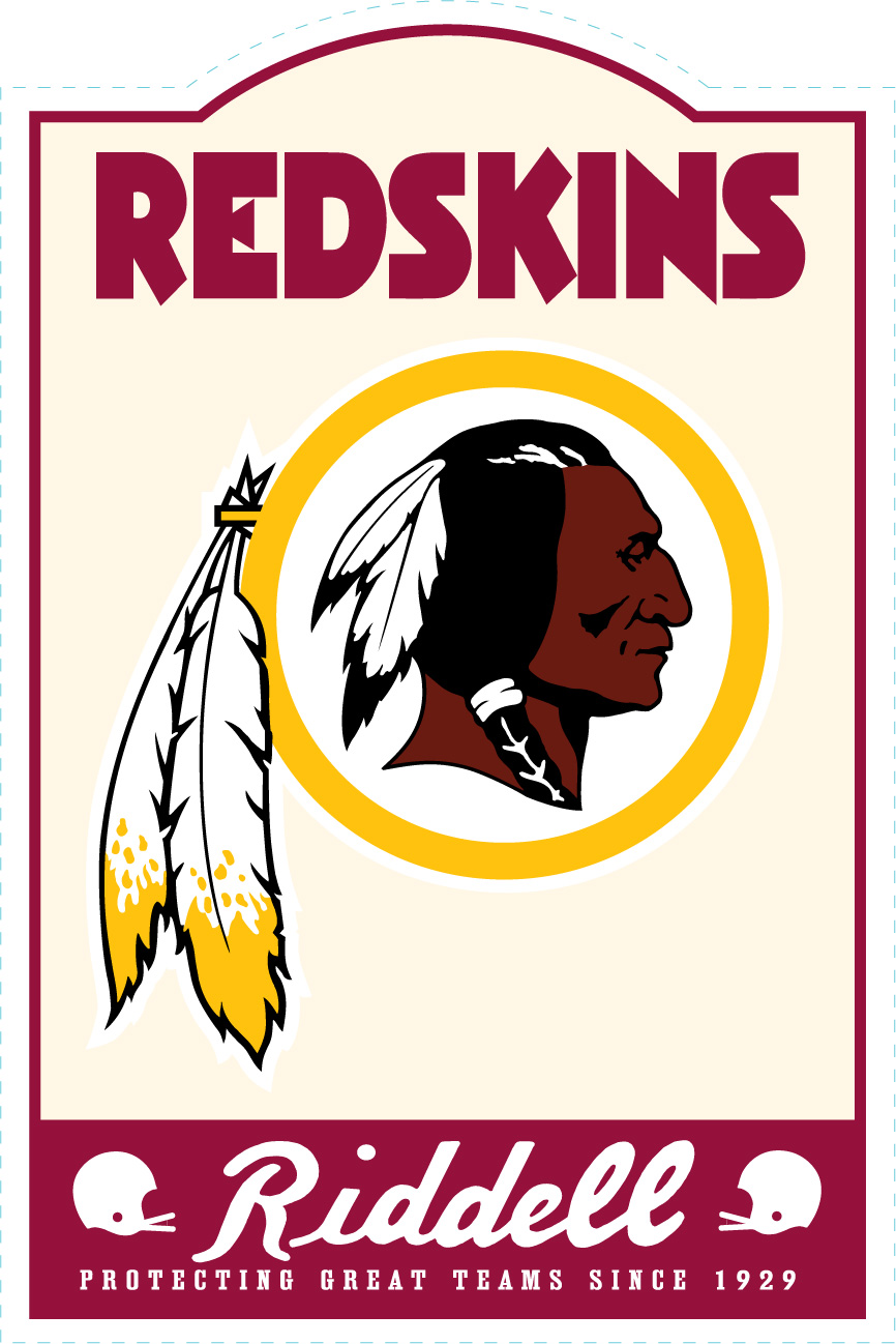 Washington Redskins NFL Sign