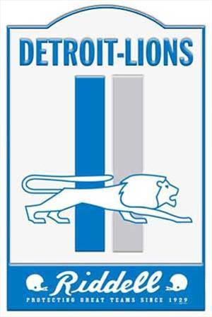 Detroit Lions NFL Sign