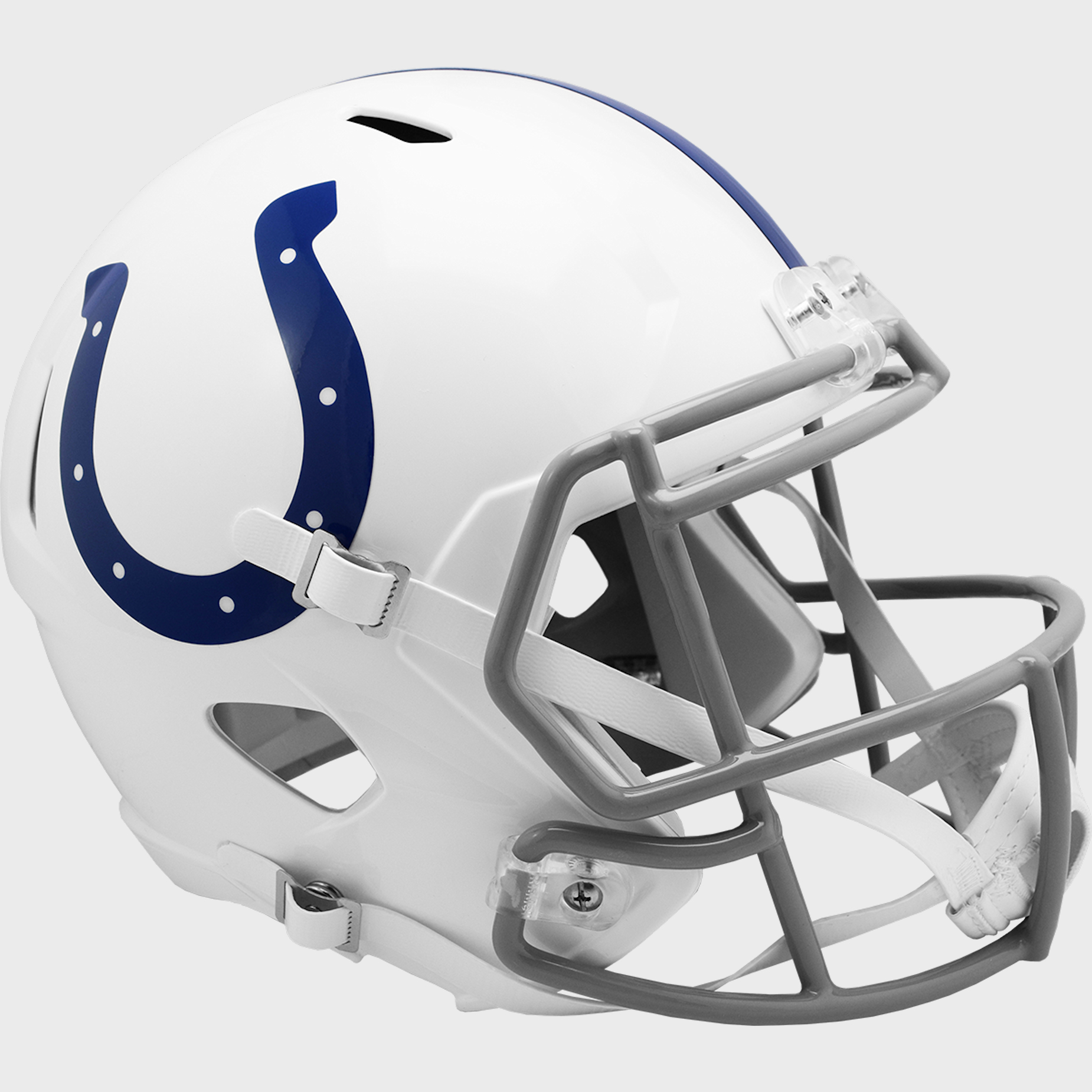 Indianapolis Colts 2004 to 2019 Speed Replica Throwback Helmet