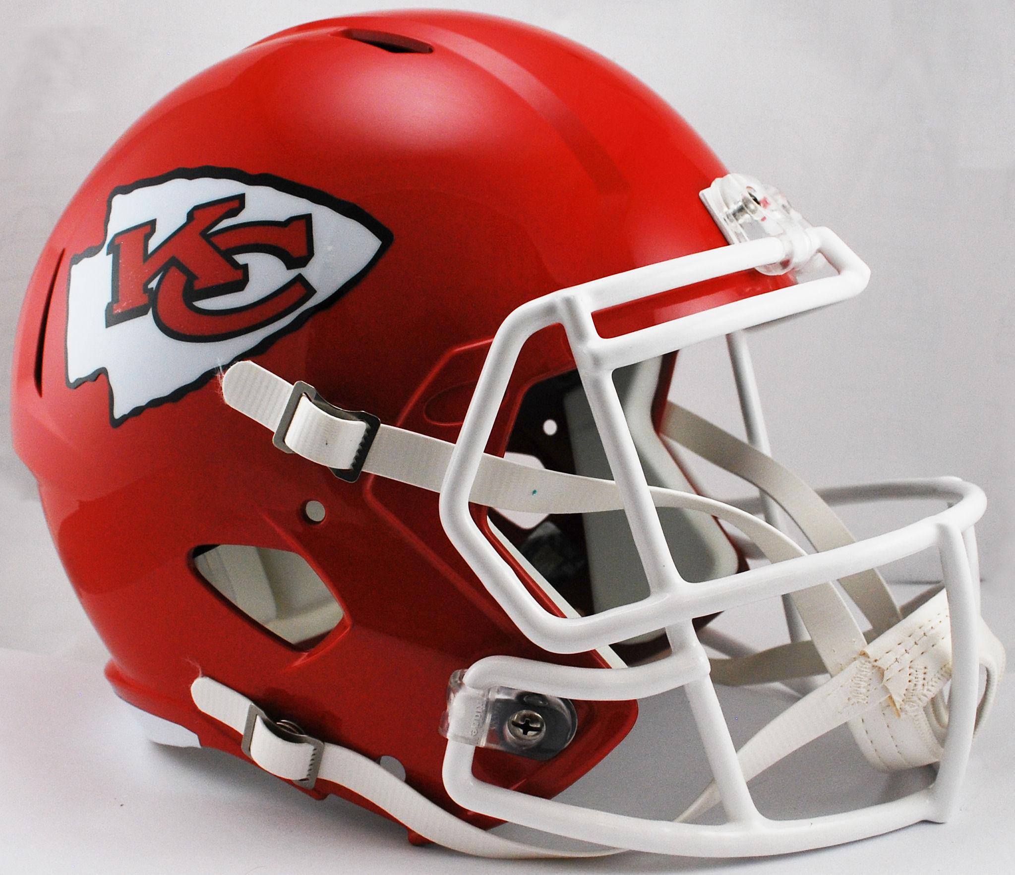 Kansas City Chiefs Speed Replica Football Helmet <B>WINNER</B>