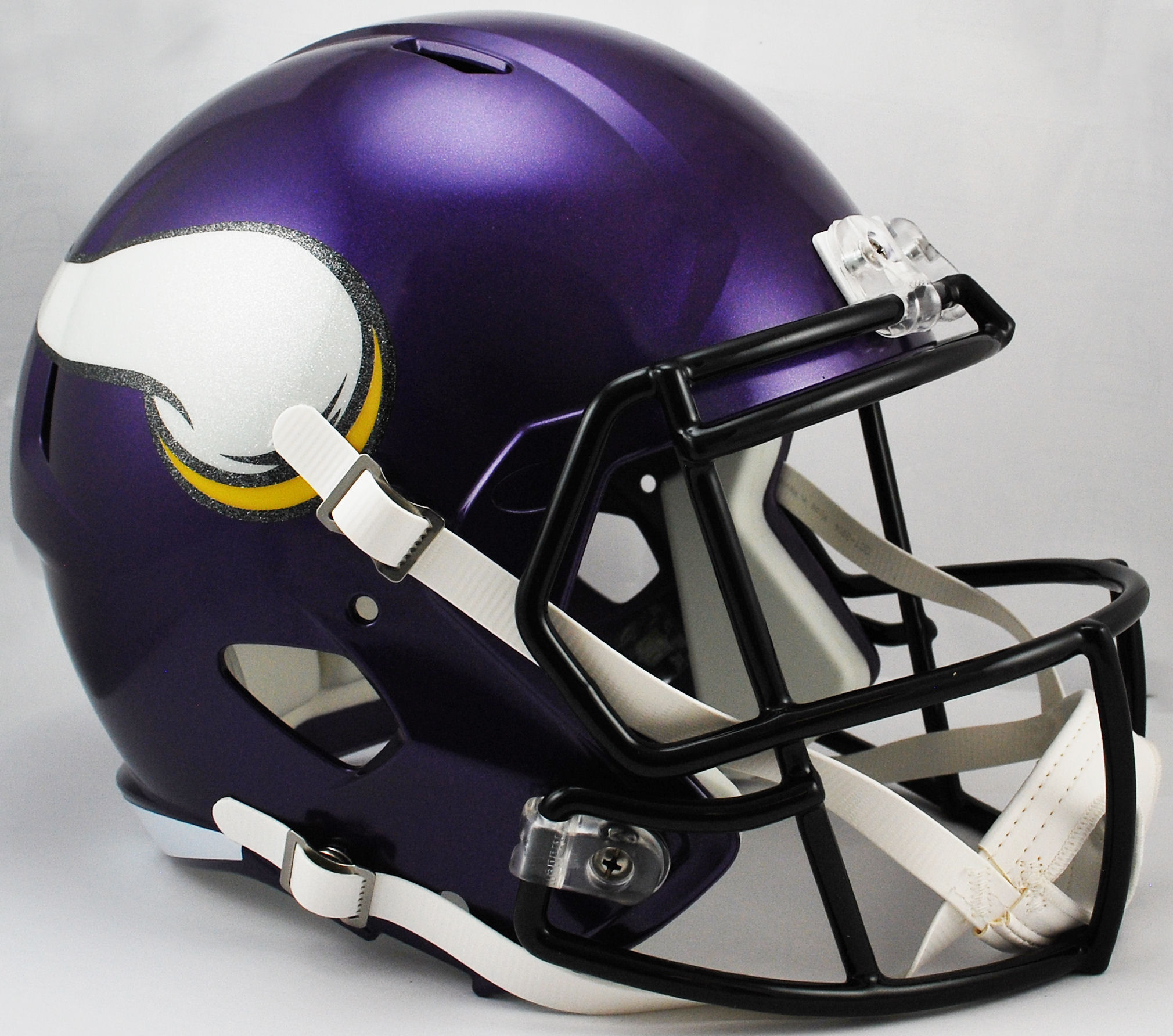 Minnesota Vikings Speed Replica Football Helmet <B>Satin Purple</B>