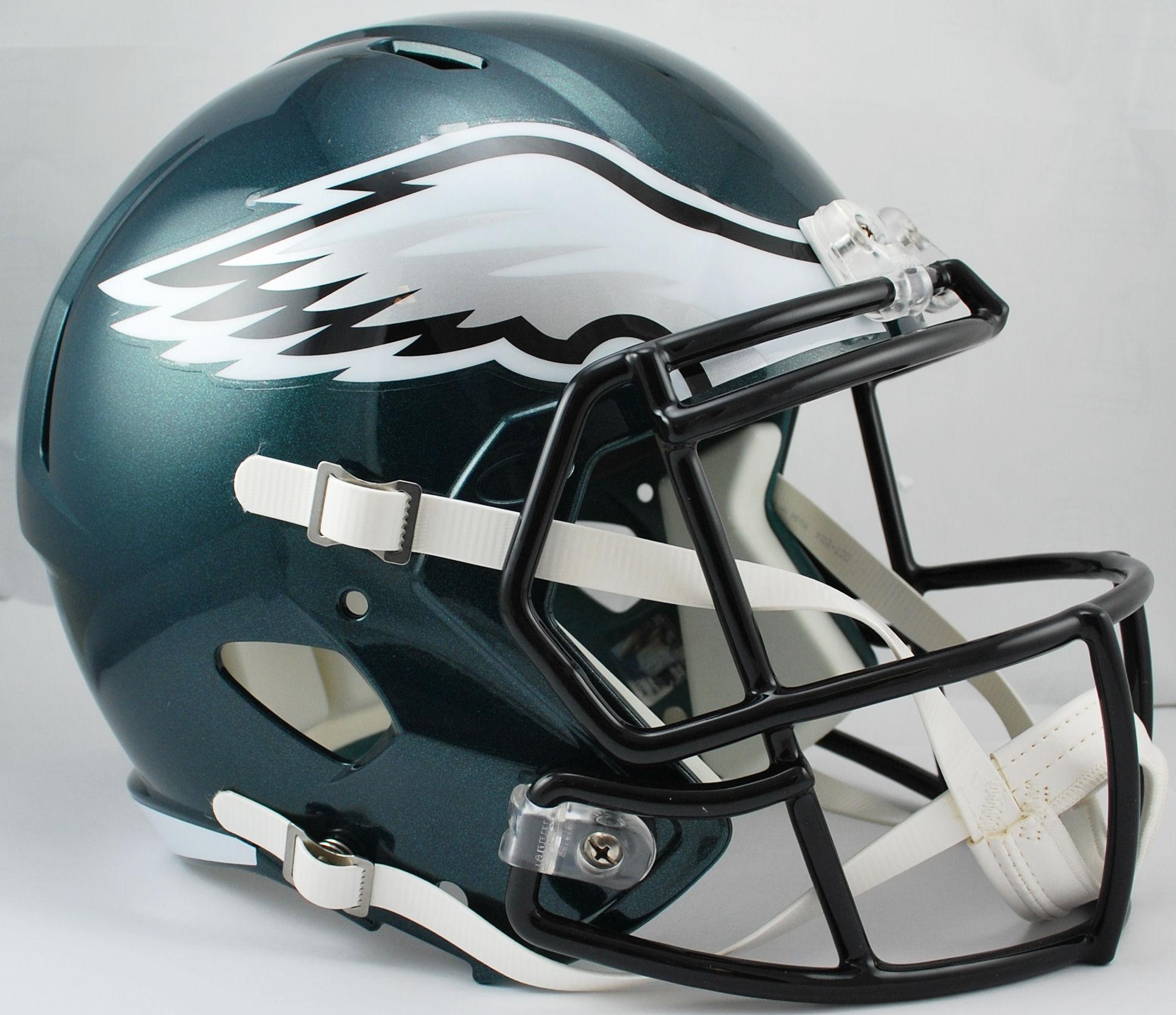 Philadelphia Eagles Speed Replica Football Helmet