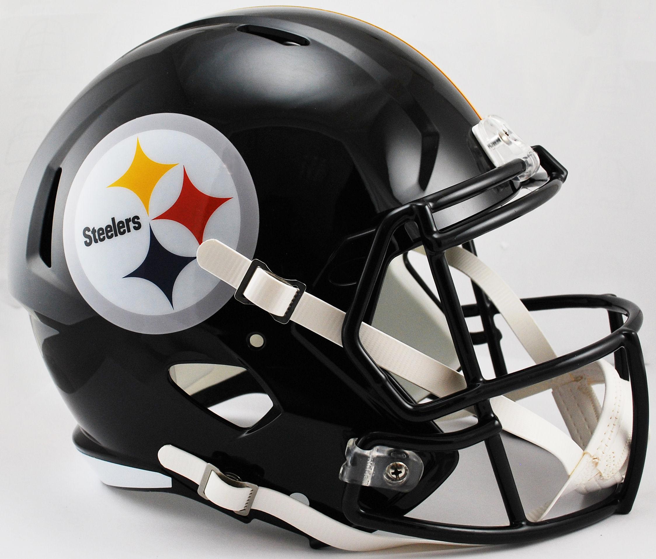 Pittsburgh Steelers Speed Replica Football Helmet