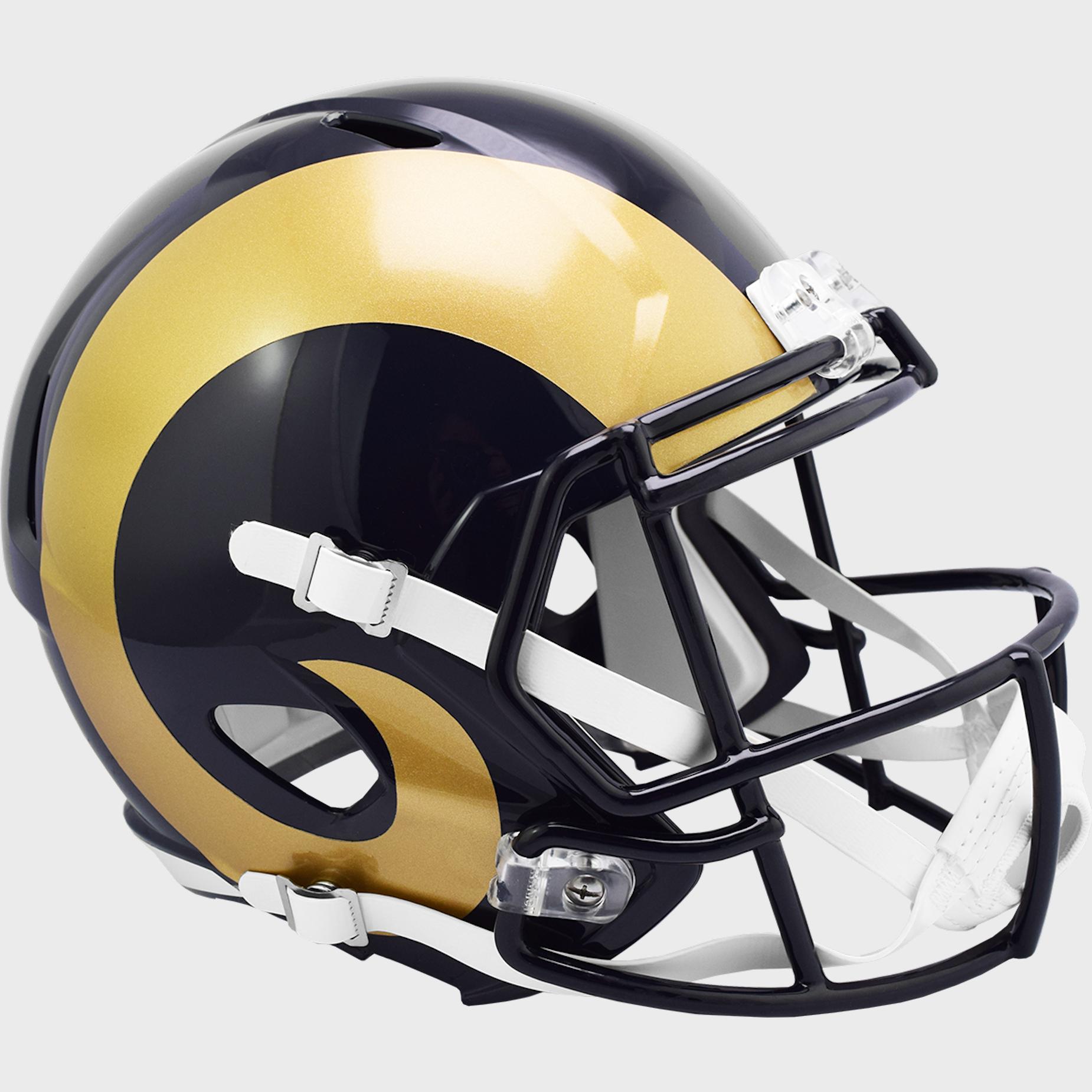 St. Louis Rams 1981 to 1999 Speed Replica Throwback Helmet