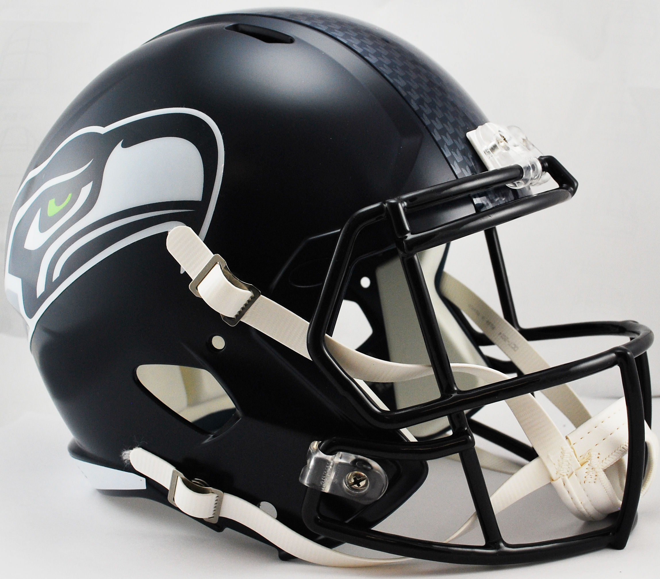 Seattle Seahawks Speed Replica Football Helmet <B>Matte Navy</B>