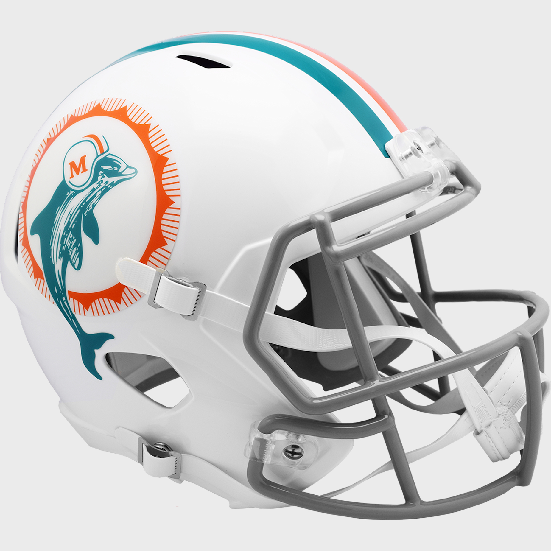 Miami Dolphins Speed Replica Football Helmet <B>1966 Anniversary</B>