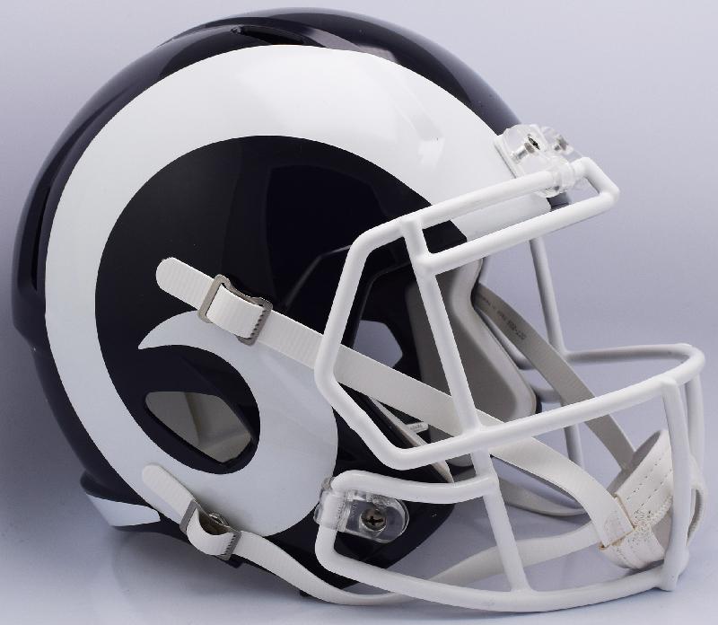 Los Angeles Rams Speed Replica Football Helmet <B>NEW 2017</B>