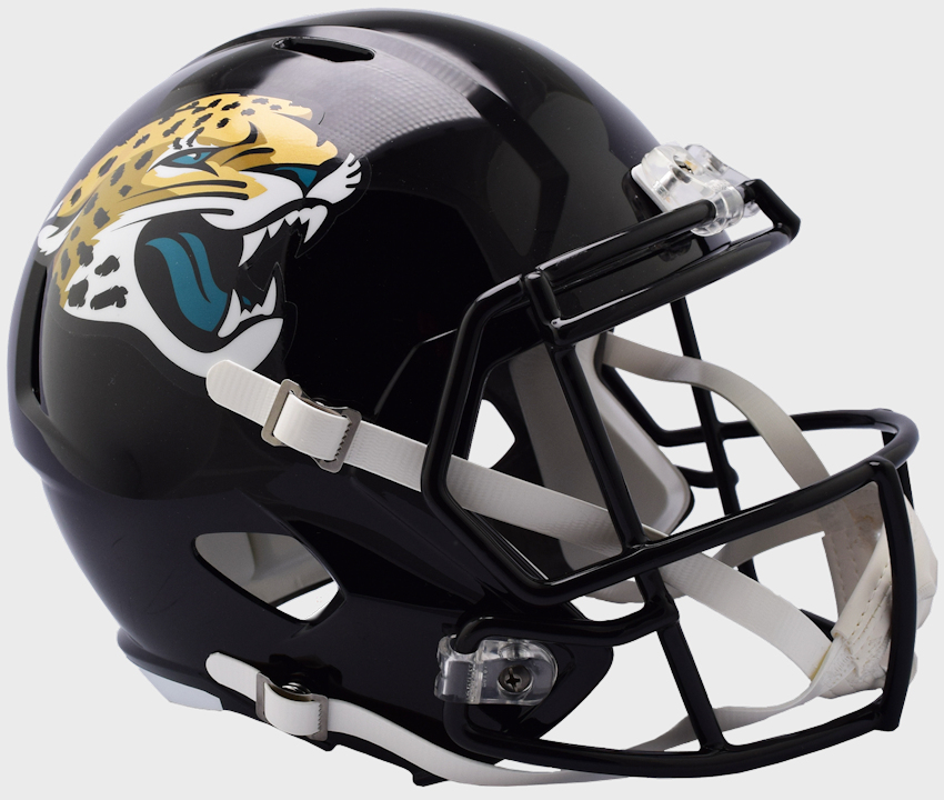 Jacksonville Jaguars Speed Replica Football Helmet <B>NEW 2018</B>
