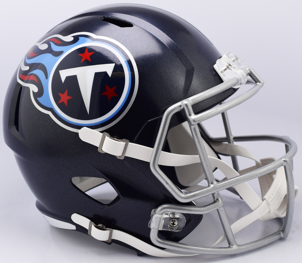 Tennessee Titans Speed Replica Football Helmet <B>NEW 2018 Satin Navy Metallic</B>