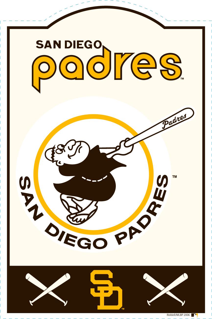 San Diego Padres MLB Sign