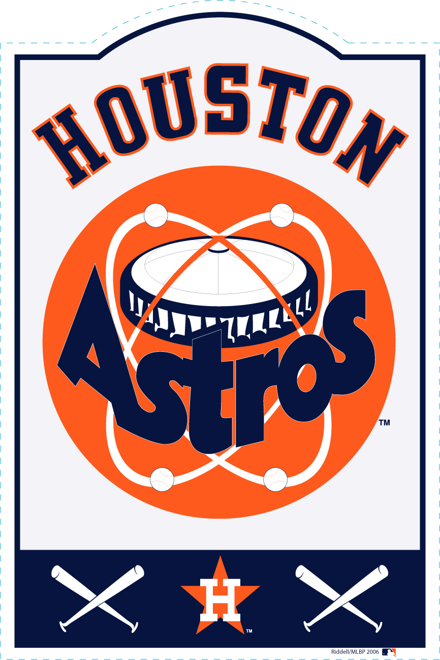 Houston Astros MLB Sign