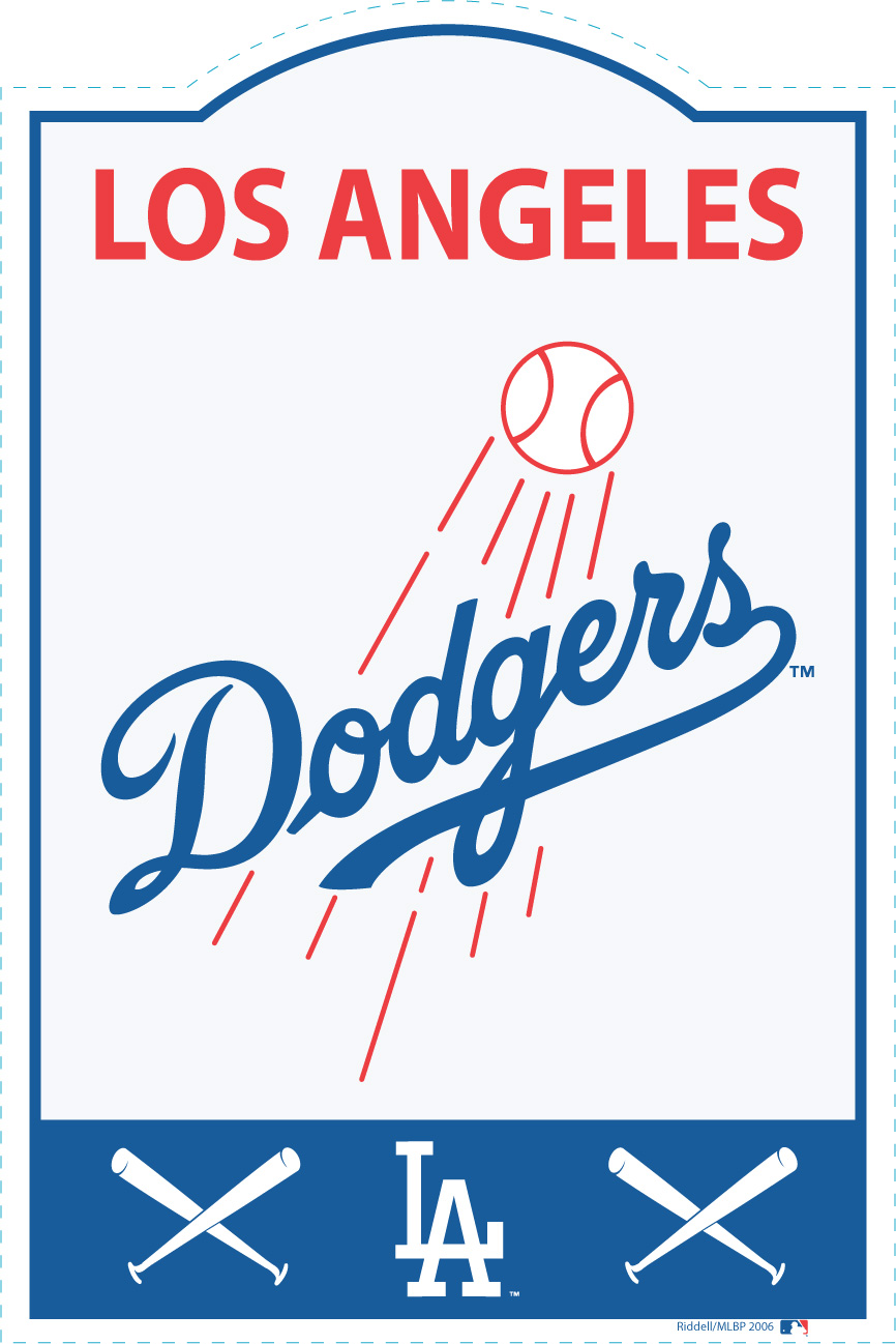 Los Angeles Dodgers MLB Sign