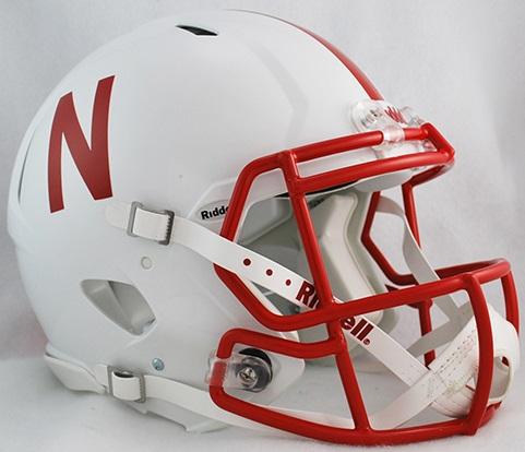 Nebraska Cornhuskers Speed Football Helmet