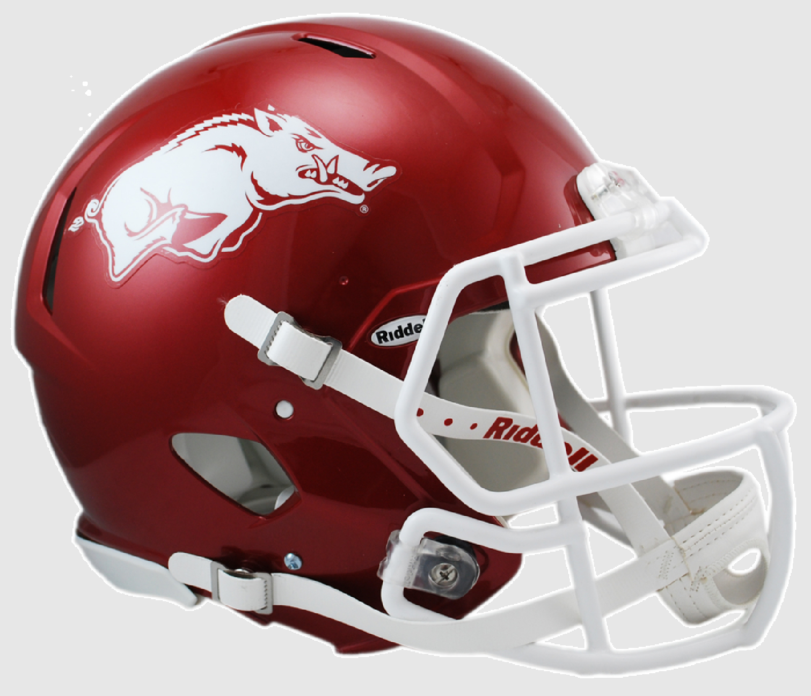 Arkansas Razorbacks Speed Football Helmet <B>Matte Cardinal</B>