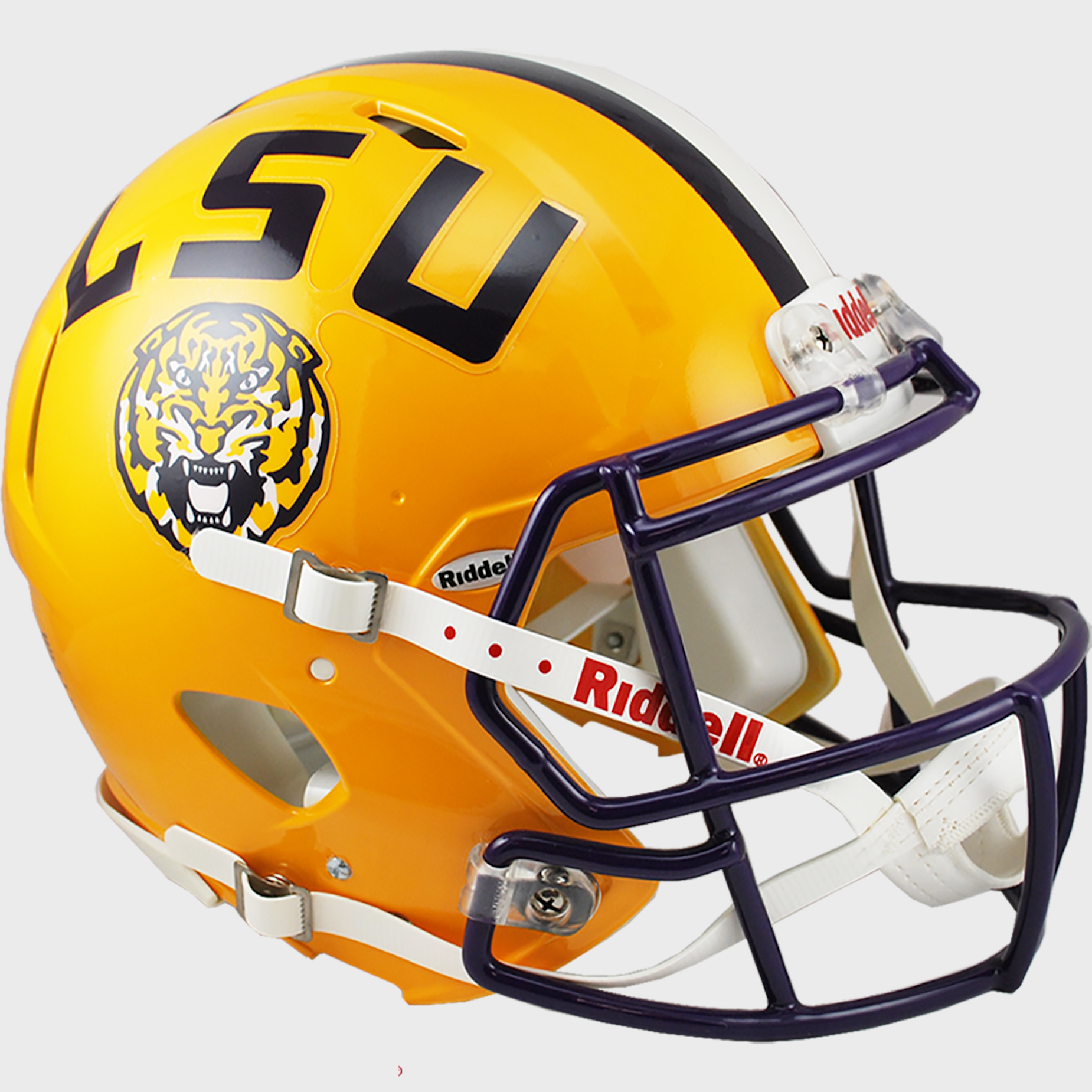 LSU Tigers Speed Football Helmet