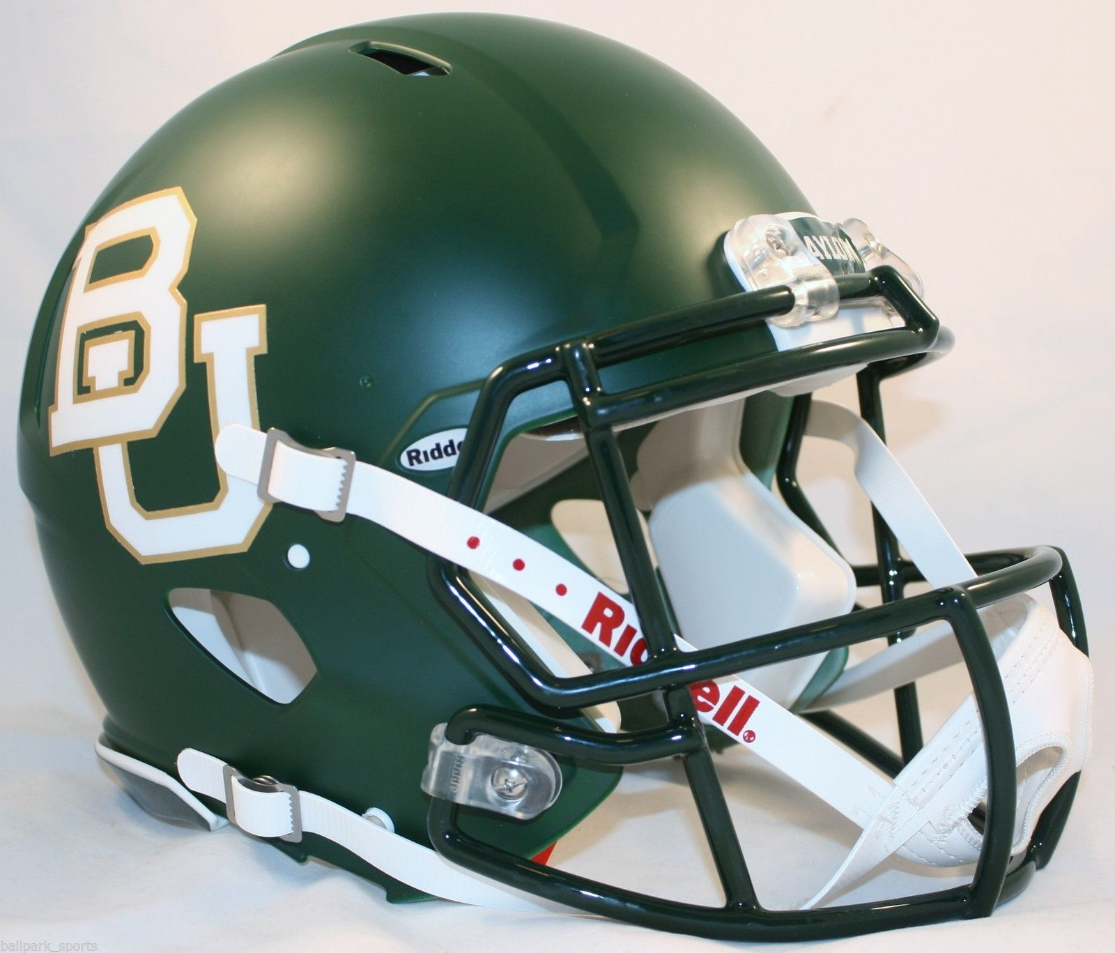 Baylor Bears Speed Football Helmet <B>Matte Green</B>