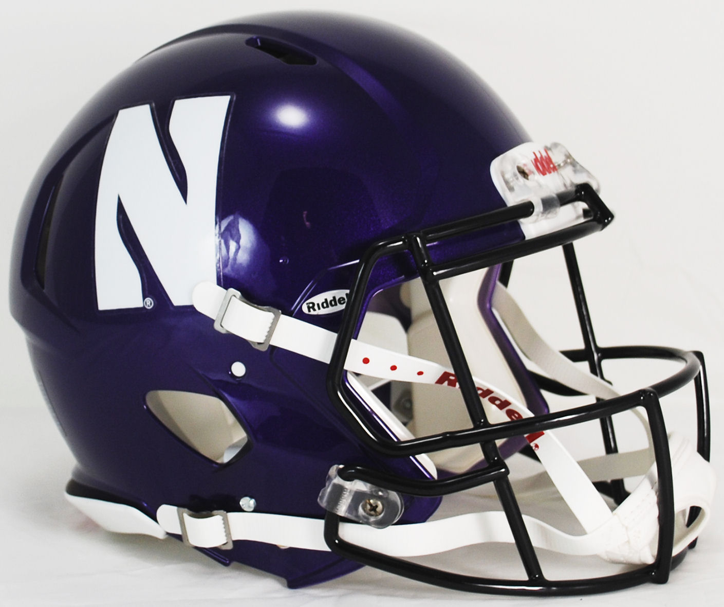 Northwestern Wildcats Speed Football Helmet