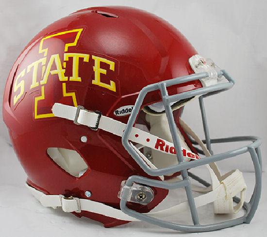 Iowa State Cyclones Speed Football Helmet
