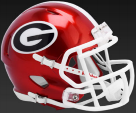 Georgia Bulldogs Speed Football Helmet <B>FLASH ESD 8/21/21</B>